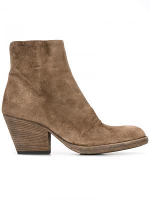 Ботинки Jacqueline Officine Creative. Цвет: коричневый