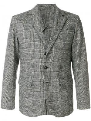 Пиджак в клетку Bellerose. Цвет: серый