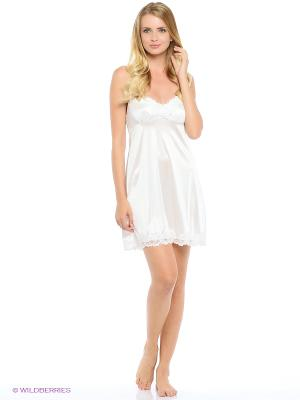 Сорочка ночная Belweiss. Цвет: белый