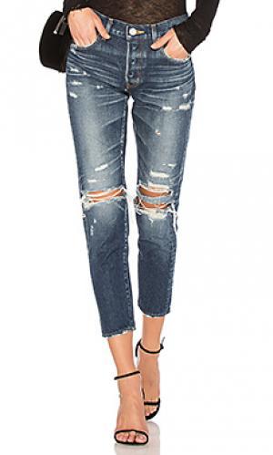 Зауженные джинсы denver Moussy. Цвет: none