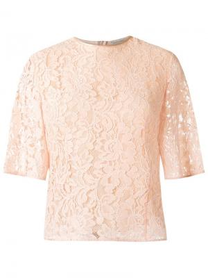 Lace blouse Martha Medeiros. Цвет: телесный
