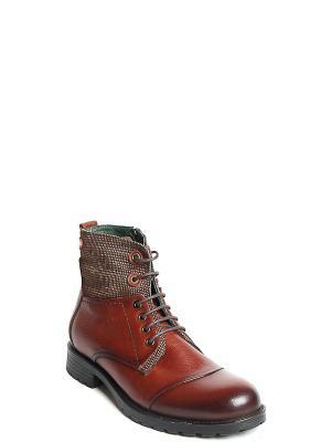 Ботинки MILANA. Цвет: рыжий