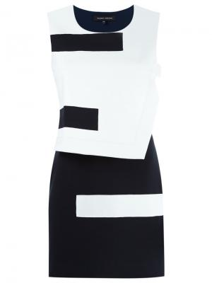 Panelled dress Gloria Coelho. Цвет: чёрный