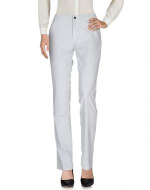 Повседневные брюки XANDRES. Цвет: светло-серый