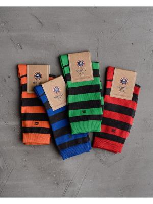 Носки, 4 шт. Modniy JUK. Цвет: синий, зеленый, красный, антрацитовый