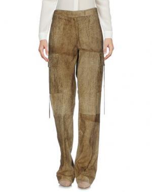 Повседневные брюки ANGELOS FRENTZOS. Цвет: верблюжий