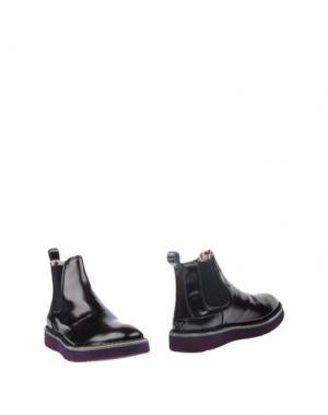 Полусапоги и высокие ботинки LAGOA. Цвет: баклажанный
