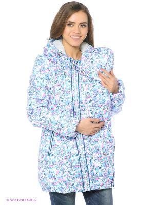 Куртка Mum`s Era. Цвет: голубой