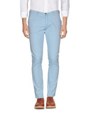 Повседневные брюки BARBATI. Цвет: небесно-голубой