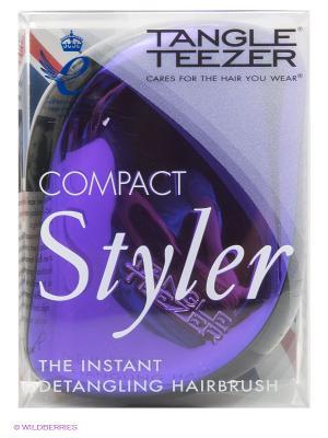 Расческа с крышкой Компакт Стайлер фиолет Tangle Teezer. Цвет: фиолетовый
