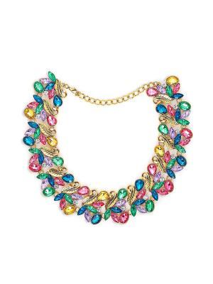 Ожерелье Радужные сны Афродиты Nothing but Love. Цвет: золотистый, зеленый, розовый