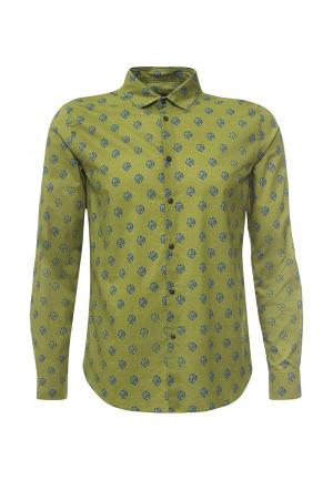 Рубашка Sisley. Цвет: зеленый