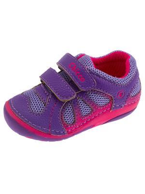 Кроссовки CHICCO. Цвет: фиолетовый
