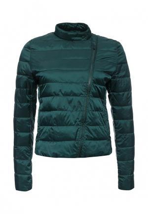 Куртка утепленная Befree. Цвет: зеленый