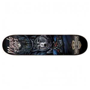 Дека для скейтборда  Harley-davidson Vintage Decenzo 31.7 x 8.25 (21 см) Darkstar. Цвет: черный,мультиколор
