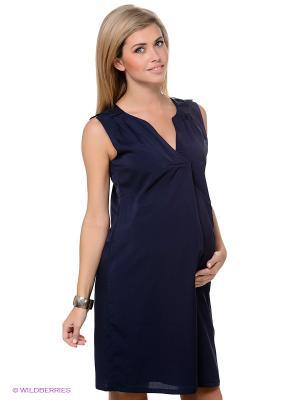 Платье ESPRIT. Цвет: темно-синий
