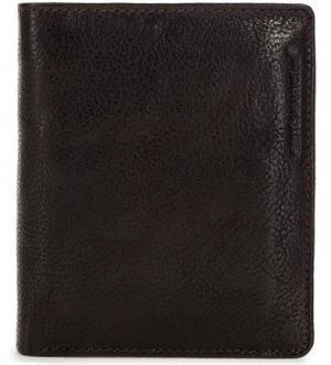 Кожаное портмоне с карманами aunts & uncles. Цвет: коричневый