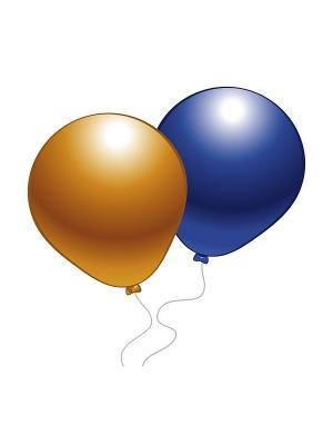 10 шариков (разноцв. перламутр) Everts. Цвет: красный