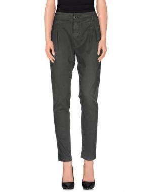 Повседневные брюки TAKE-TWO. Цвет: свинцово-серый