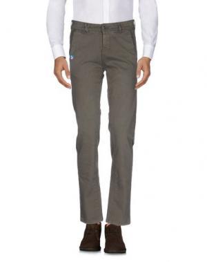 Повседневные брюки JCOLOR. Цвет: темно-зеленый