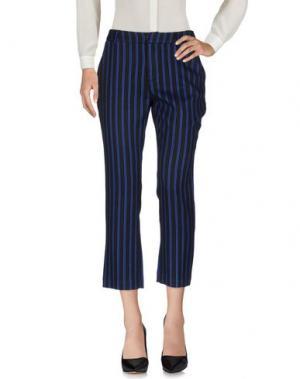 Повседневные брюки WEILI ZHENG. Цвет: синий