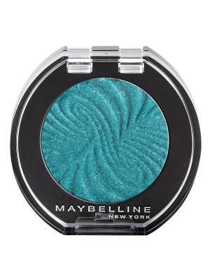 Моно тени для глаз, цвет: Блестки 28, Индиго, 3 мл Maybelline New York. Цвет: голубой