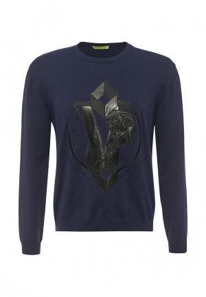 Джемпер Versace Jeans. Цвет: синий