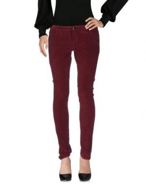 Повседневные брюки 75 FAUBOURG. Цвет: пурпурный