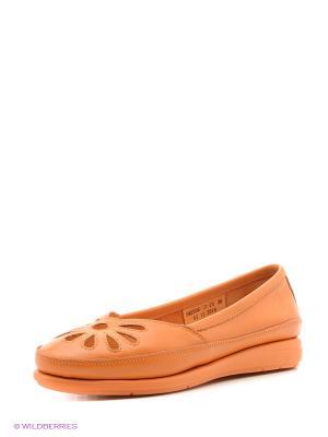 Балетки Spur. Цвет: оранжевый