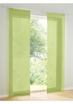 Штора Heine Home. Цвет: зеленый