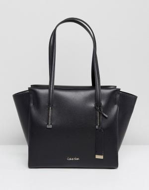 Calvin Klein Сумка-шоппер. Цвет: черный