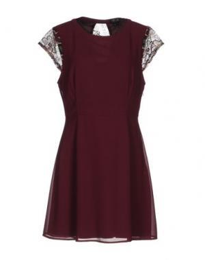 Короткое платье CUTIE. Цвет: пурпурный