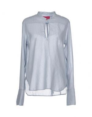 Блузка CARLO CONTRADA. Цвет: синий