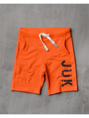 Шорты Modniy JUK. Цвет: оранжевый