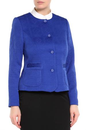 Жакет E.LEVY. Цвет: синий