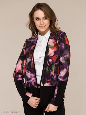 Блейзер Vero moda. Цвет: черный, фиолетовый, красный