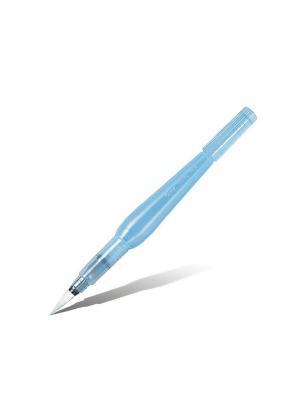 Кисть с резервуаром Aguash Brush широкая Pentel. Цвет: фиолетовый, белый, прозрачный
