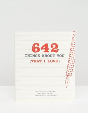Books Книга 642 Things About You (That I Love. Цвет: мульти
