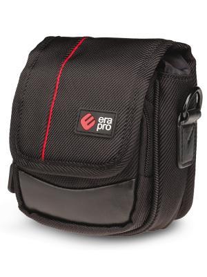 Era Pro Чехол для фотоаппарата EP-010911  10,5х7х4 см., чер/кр.. Цвет: красный, черный