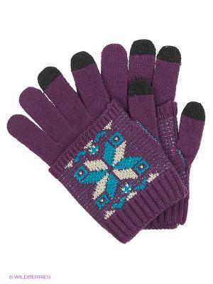 Перчатки для сенсорных экранов TERRITORY. Цвет: фиолетовый