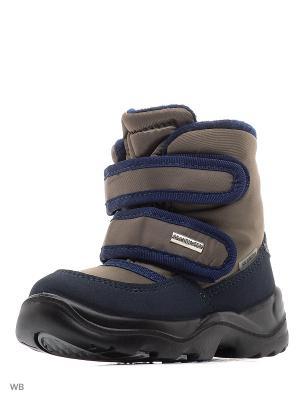 Ботинки Skandia. Цвет: коричневый