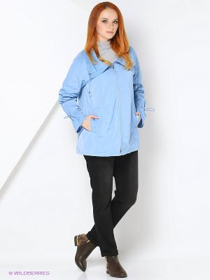 Куртка Fiorella Rubino. Цвет: голубой