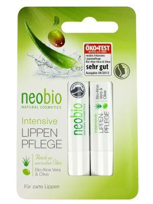 Neobio бальзам для губ. Цвет: светло-желтый