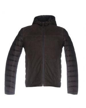 Куртка GIMO'S. Цвет: темно-коричневый