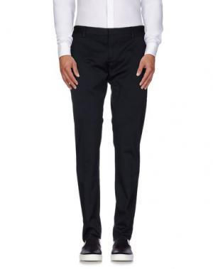 Повседневные брюки MAURIZIO MIRI. Цвет: темно-синий