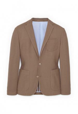 Пиджак Mango Man. Цвет: коричневый
