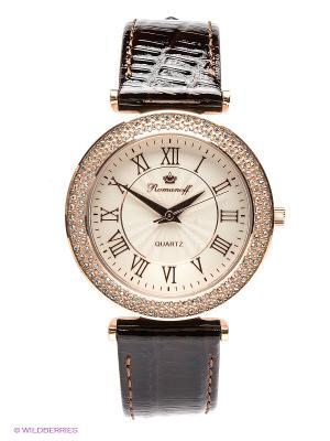Часы наручные Romanoff. Цвет: золотистый, темно-коричневый, молочный