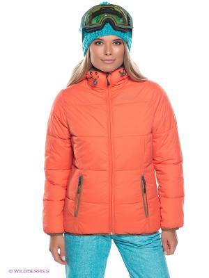 Куртка BRUNOTTI. Цвет: оранжевый