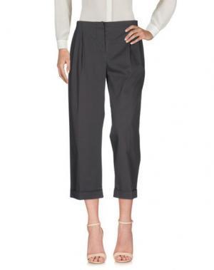 Повседневные брюки ANTONELLI. Цвет: темно-зеленый