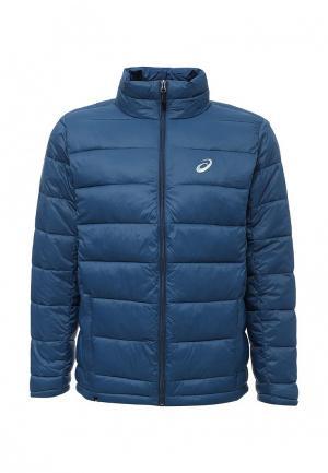 Куртка утепленная ASICS. Цвет: синий